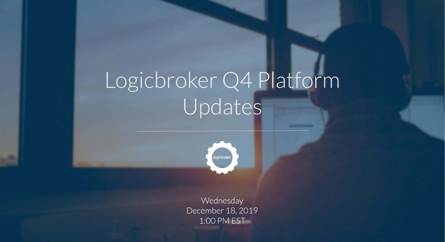 q4 platform updates email header