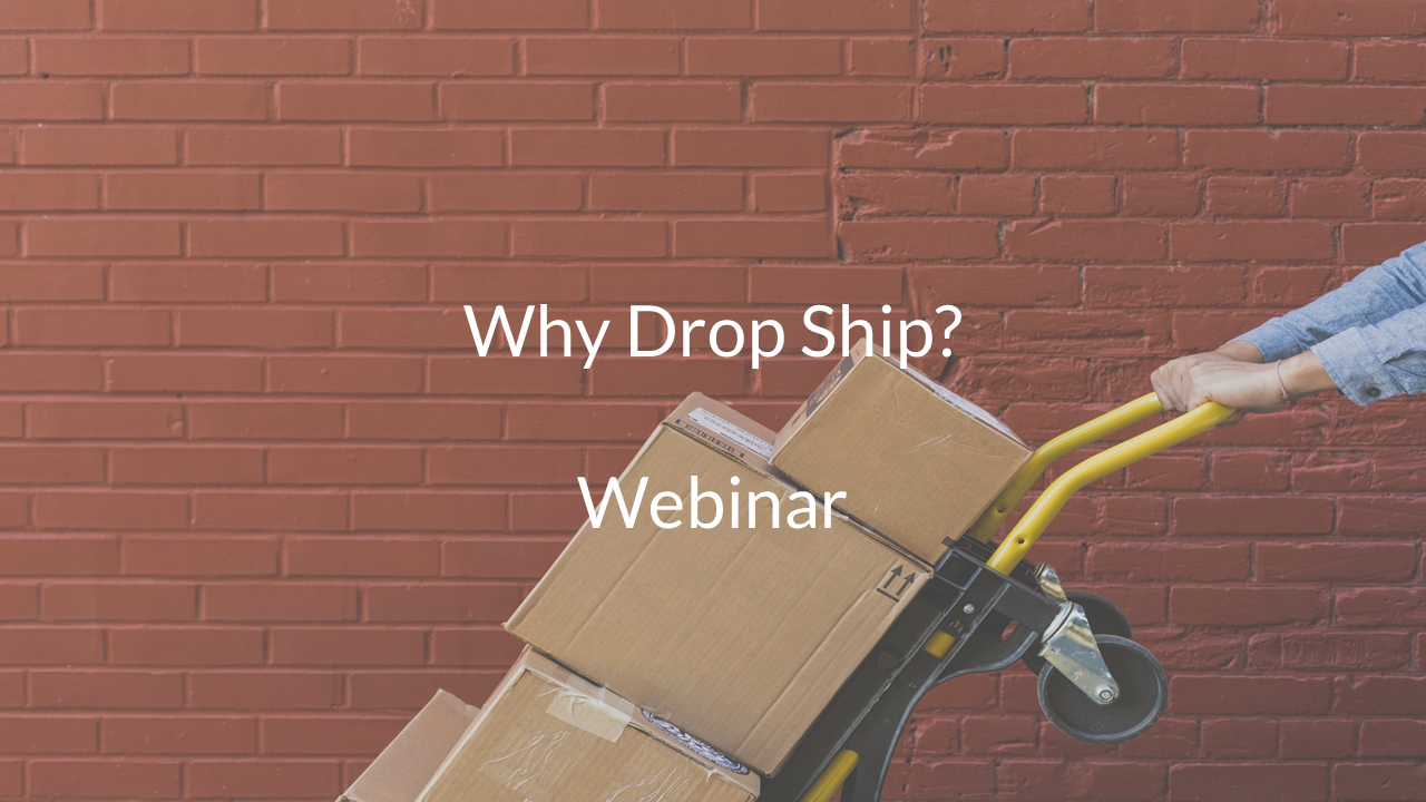 why drop ship webinar